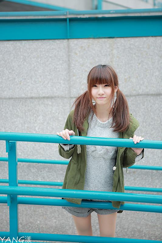 竹竿◆曇りの午後の日