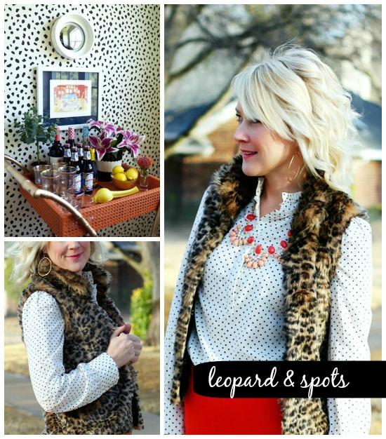 Hi Sugarplum | {Outfit Inspirtation} Leopard & Spots
