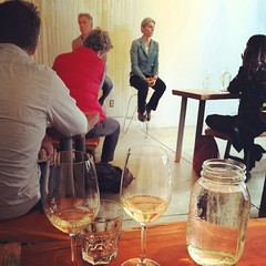 Tasting with Elisabetta Foradori and Silvio Messana #farmwine #amphoREAL by SommMunoz