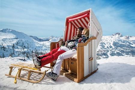 Nassfeld má více než 4 metry sněhu a čeká jarní slunce!