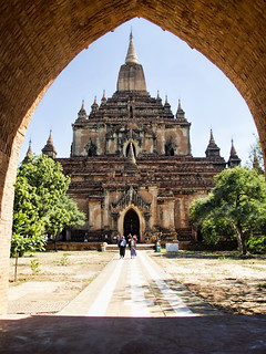 Image of Sulamani Temple near Pagan.