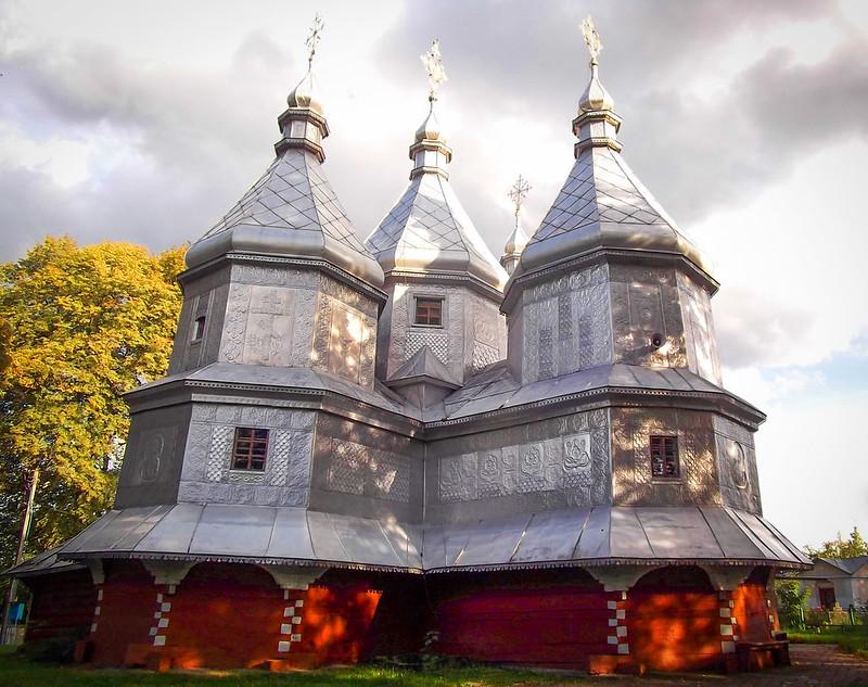 Curiosas iglesias de madera