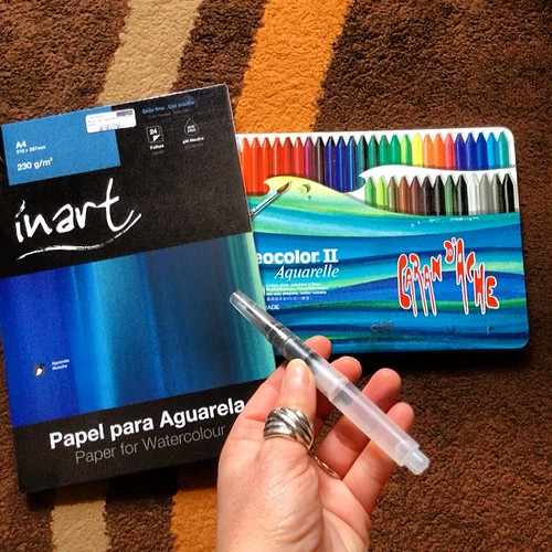 Ahhhhh, 50% off!!!! :D Watercolors!!! here i go!!! by *manuworld*