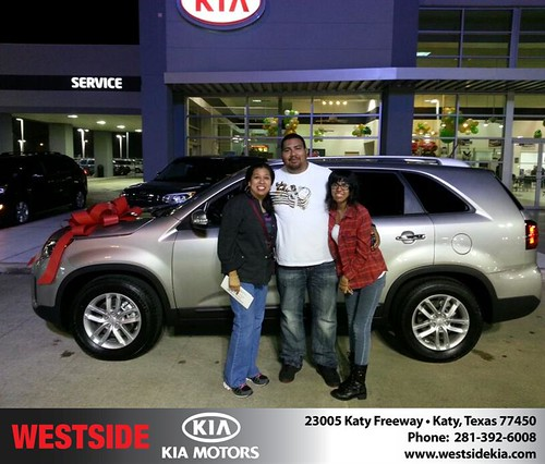 Westside KIA Houston Texas Customer Reviews and Testimonials-Rosa Sanchez by Westside KIA
