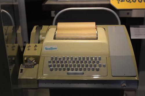 Teletype Mdl 33 ASR CHM 8-8-14