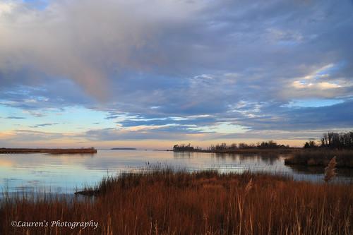 sky nature clouds sunrise landscape ilovenature bay md nikon pastel maryland wetlands tilghman chesapeakebay waterscape tilghmanisland tamron2875mm28 talbotcounty knappsnarrows d700 laurensphotography lauren3838photography