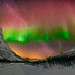 Aurora near Tromsø, Norway by Wayne Pinkston