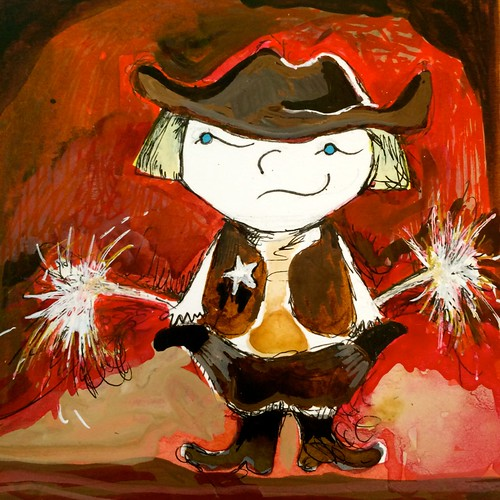 Birthdays,Sparklers, and the Wild West.