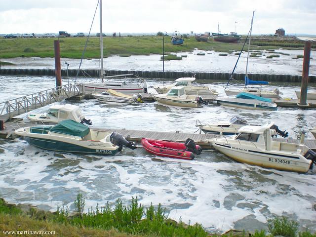 Le Crotoy, la forza della marea