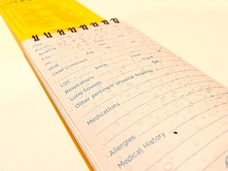 Rite in the Rain EMS notepad