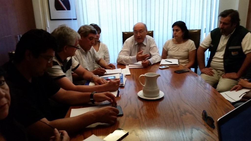 Mesa de trabajo entre Dirección Nacional - Coordinadora de Trabajadores a Honorarios y AFSAG - 27 ENERO 2015