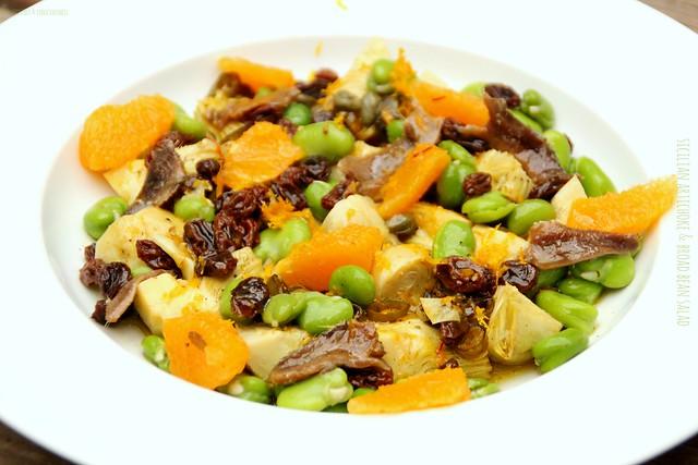 Sicilian Artichoke & Broad Bean Salad 3