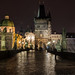 The Charles Bridge at Night / Prague, Czech Republic by Niels Photography