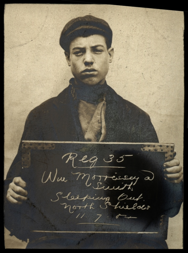 William Morrissey alias Smith, arrested for sleeping rough