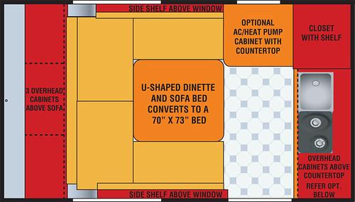 U Floor Plan