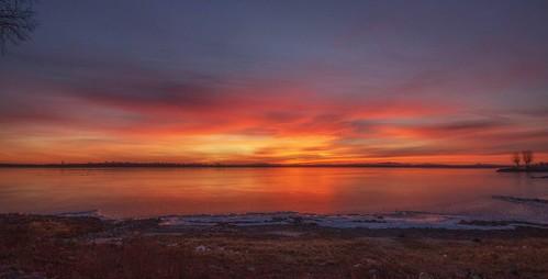 sunrise lakechamplain rousespoint