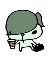 コーヒーをテイクアウトするメンズムンズ