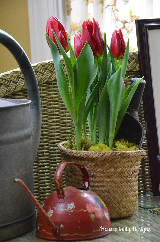 Vintage watering can-Housepitality Designs