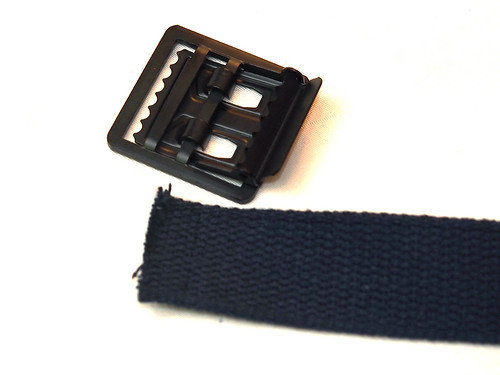 "Suspender Factory / ""1 1/4"" Open-Face Buckle Web Belt"