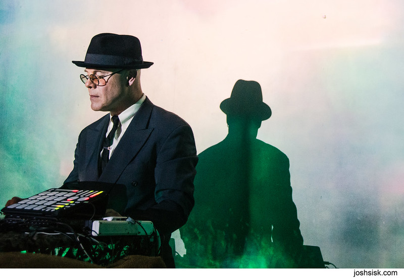 Thomas Dolby's first DJ performance