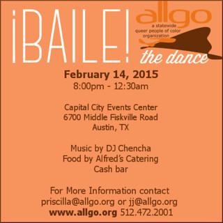 Baile flyer