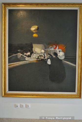 34. Alejandro Obregon. Tigre Matando una Iguana, 1961