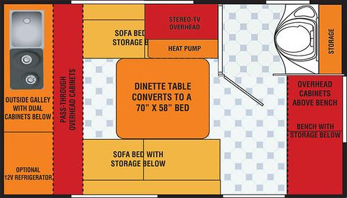 CS-S Floor Plan