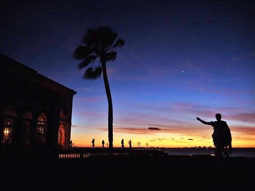 blue sunset twilight florida sarasota ringlingmuseum sarasotafl ringlingmansion cad'zan