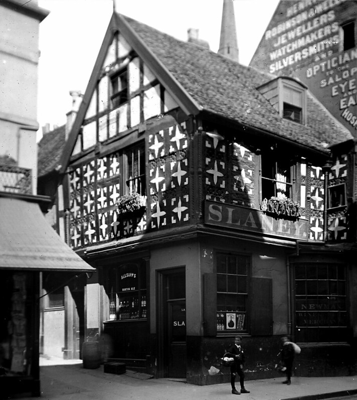 CROSS KEYS GROPE LANE SHREWSBURY