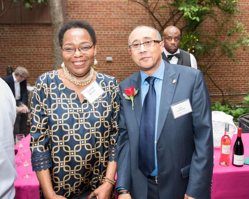 ISH Board President Cynthia Bunton and Ambassador Rocha of Cape Verde