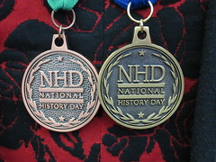 Erin's Medals from NHD 2016