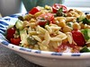 Orzo, chickpea and tahini salad (RECIPE)