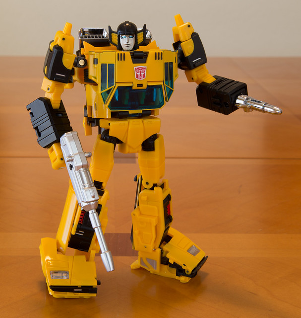 Masterpiece Sunstreaker (Sunsurge) - Robot mode