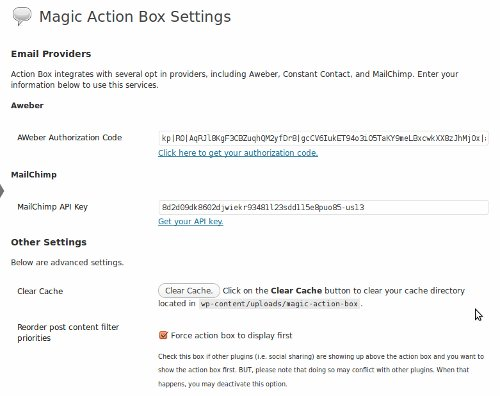 Magic Action Box