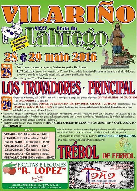 Cambados 2016 - XXXV Festa do Labrego en Vilariño