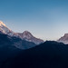 Annapurna Range by brysons