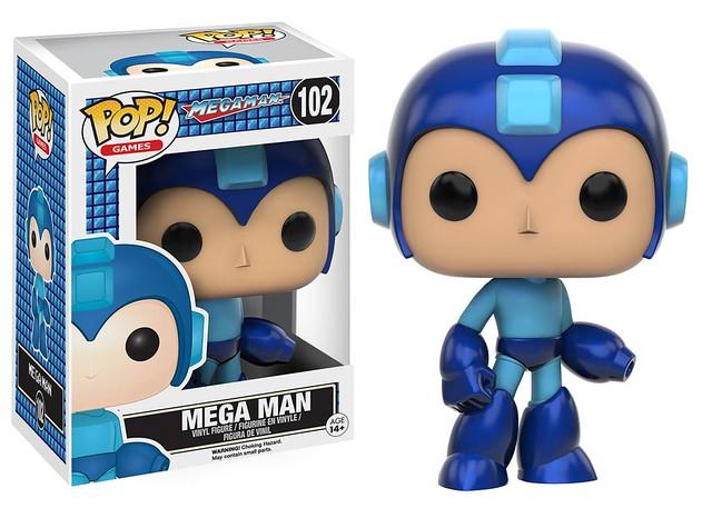 FUNKO POP! GAMES 系列【洛克人】Mega Man