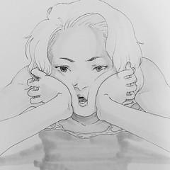 I'm angryyyyyyy---- @iohohoh '하나의 신나는 일상생활' 이모티콘 판매중 Kakaotalk : https://goo.gl/3LJ92u LINE : http://goo.gl/j5rKnW #inktober #vscocam #vsco #일러스트 #art #daily #illustration #illustrator #design #instadaily #drawing #draw #iohohoh #artwork #artist #アートワーク #