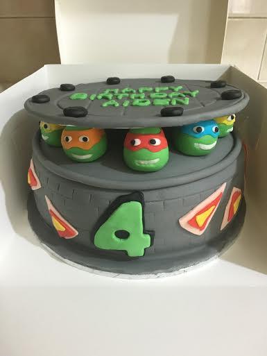 Teenage Mutant Ninja Turtles by Sumi's Cake