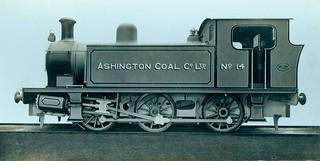 Locomotive for Ashington Coal Company