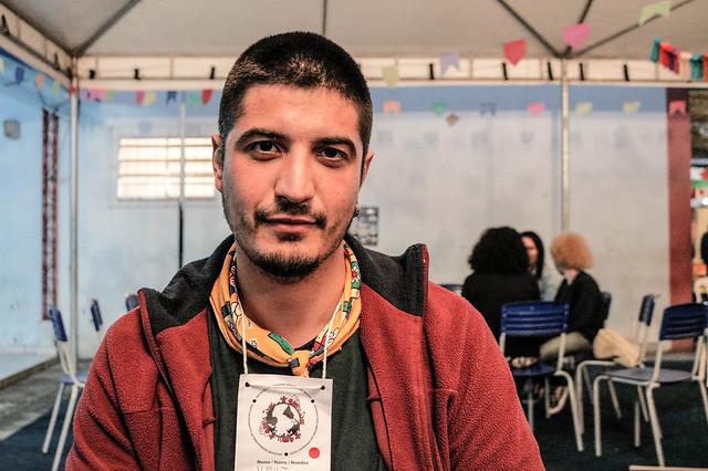 Activista de todo el mundo se reunieron en una escuela pública, en Maricá (RJ) - Créditos: Norma Odara/Brasil de Fato