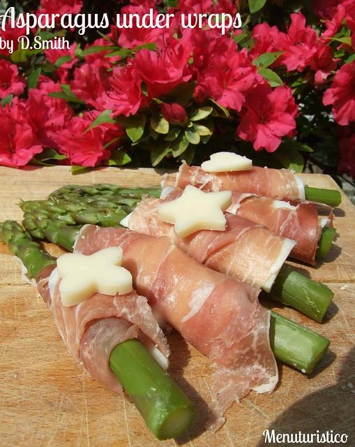asparagus under wraps