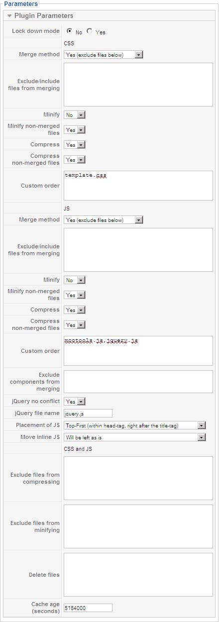 Компонент сжатия и ускорения загрузки страниц jbetolo