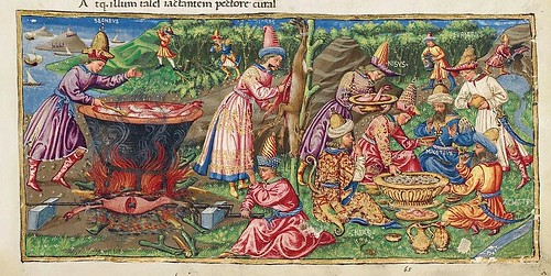 008-Bucolicon-Georgicon-Aeneis-1450-1460- Biblioteca Riccardiana de Florencia