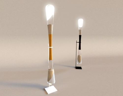 LED-лампы светят благодаря падающему песку