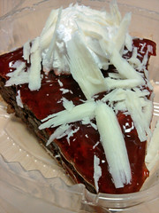 Black Forest Brownie Pie #1