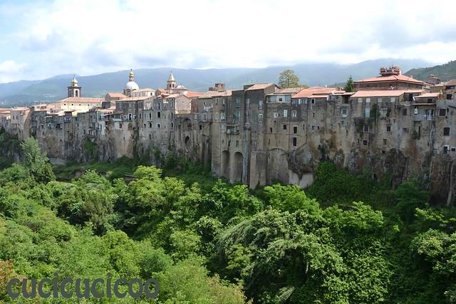 may 12 sant'agata dei goti (BN) - Italy: vista sul vallone