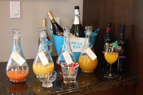 Mimosa Bar Bridal Shower Idea Life at Cloverhill