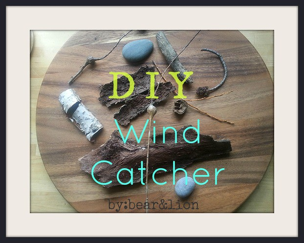 wind catcher, nature crafts