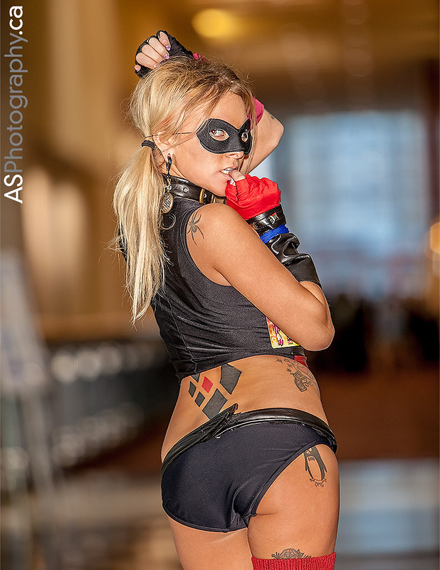 Sexy Harley Quinn captured at C2E2 2013